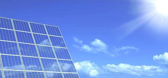 foto de una instalacion solar en saltillo coahuila