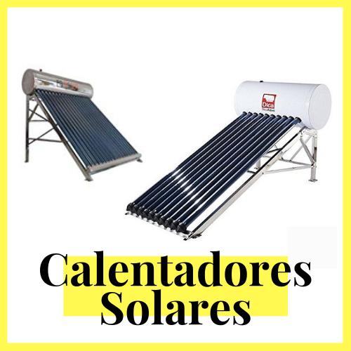 venta de celentadores solares